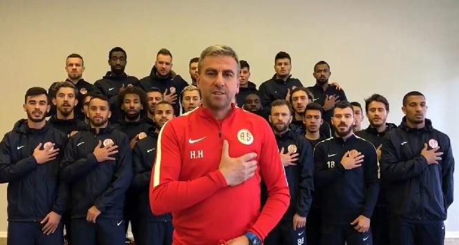 Antalyaspordan Afrinde görevli uzman çavuşa forma