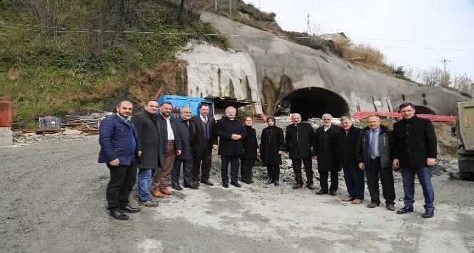 Salarha Tünelinin yüzde 70i, Isırlık Mesire Alanının ise 1. etabı tamamlandı