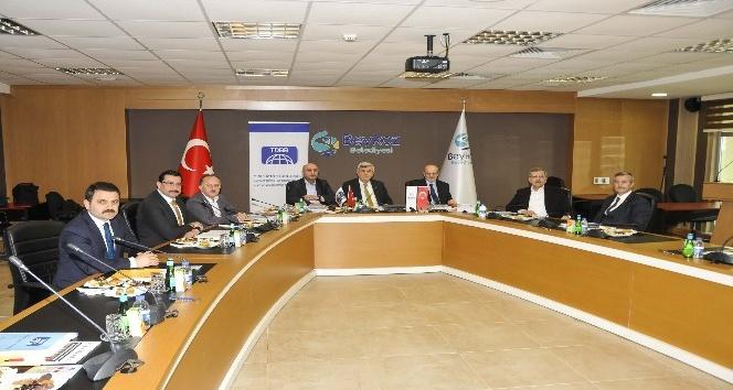 Türk Dünyası Belediyeler Birliği Beykozda toplandı