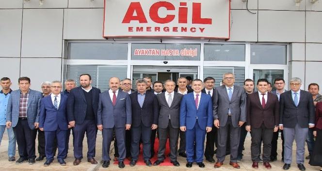 Gölbaşı Devlet Hastanesinde Fizik Tedavi ve Rehabilitasyon Ünitesi açıldı
