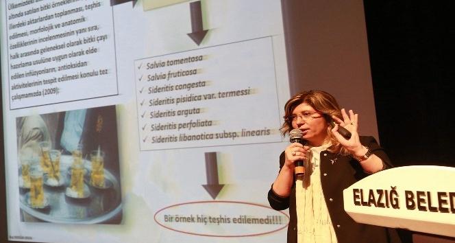Elazığda bitkiler hakkında konferans verildi