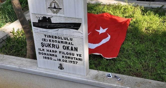 Türkiye Cumhuriyetinin ilk Donanma Komutanı Koramiral Şükrü Okan anıldı