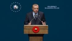 Cumhurbaşkanı Erdoğan: Kimseye muhtaç olmadan kendi göbeğimizi kestik