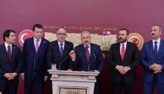 AK Parti ve MHPnin 26 maddelik seçim ittifakı teklifi Meclise sunuldu