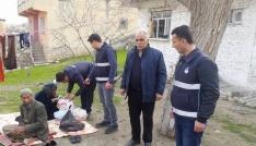 Silvanda Suriyeli aileye zabıta desteği