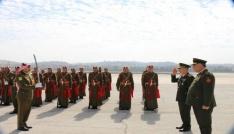 Genelkurmay Başkanı Akar Ürdünü ziyaret etti
