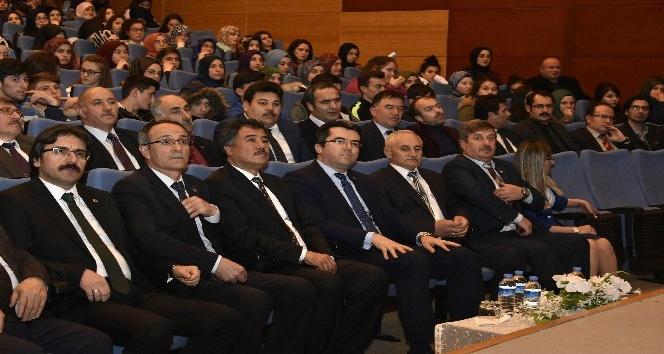 Gümüşhanede Kazakistan ve Ahmet Yesevi konulu konferans düzenlendi