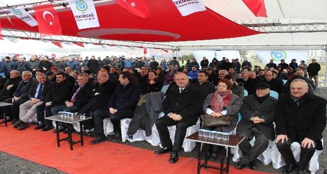 TESKİden Çerkezköye 7,2 milyon liralık altyapı yatırımı