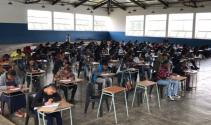 Güney Afrika ülkesinde öğrenciler Türk üniversitesi için yarışıyor