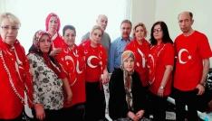 Eskişehir Sultanlar Zeybek Ekibi şehit ailesine taziye ziyaretinde bulundu