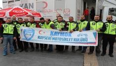 Motosikletçilerden Mehmetçike kan bağışı