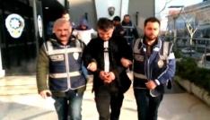 Bursada 2 ayrı iş yerini soyan hırsızlar polisten kaçamadı