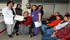 Salihli Diyabet Okulu, altıncı mezunlarını verdi