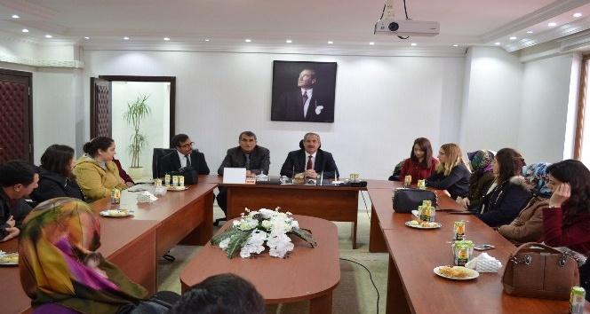 Öğretmenlerden Başkan Necati Gürsoya ziyaret