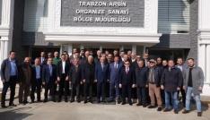 Trabzonda OSBler dayanışması