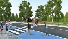 Sivasta çocuklar için trafik eğitim parkı