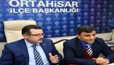 Başkan Genç AK Parti Ortahisar İlçe Teşkilatı toplantısına katıldı