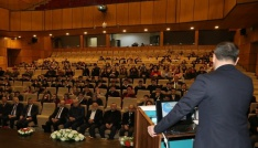 """Rizede """"İrfani Geleneğimiz ve Hoca Ahmet Yesevi Konferansı"""" yapıldı"""