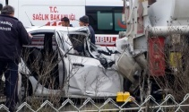 İstanbulda feci kaza: 1 ölü, 1 ağır yaralı