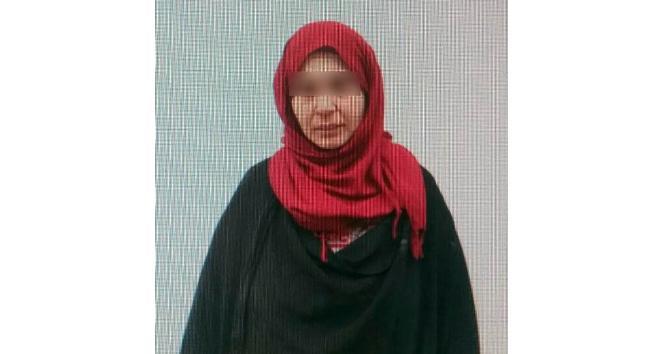 Köyde saklanırken yakalanan DEAŞlı kadın terörist tutuklandı