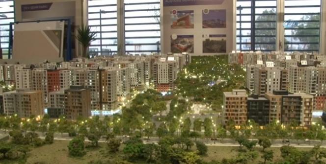 Türkiye'nin en büyük kentsel dönüşüm projesinde çalışmalar devam ediyor