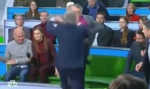 Rusyada canlı yayında yumruklu kavga