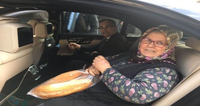 Vali Çeberden dar gelirli ailelere ziyaret