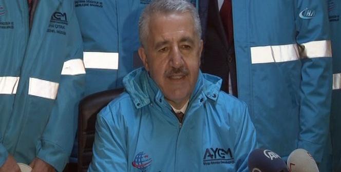 Bakan Arslan, Çamlıca Kulesi'nde incelemelerde bulundu