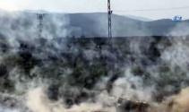 Teröristlerin üzerine bomba yağıyor !