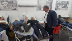 Silopililerden kan bağışına yoğun ilgi