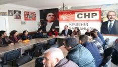 CHP İl Başkanı Yılmaz Zengin: Üretim kapılarına kilit vuruldu