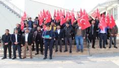 Elazığda gençlerden Zeytin Dalı Harekatına destek