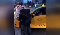 Alkollü taksi sürücüsü Kadıköyü birbirine kattı