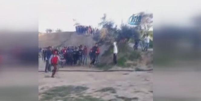 İsrail askerlerinden Filistinlilere sert müdahale: 22 yaralı