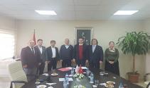 """TÜBİTAK- İAÜ işbirliğinde  """"Uluslararası Kuluçka Merkezi"""" kuruldu"""