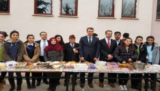 Mustafa Erdemoğlu Anadolu Lisesinden anlamlı etkinlik