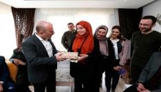 İçişleri Bakanı Soyludan şehit kızı İreme doğum günü hediyesi