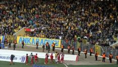 Gaziantepspora Ankaragücü taraftarı sahip çıktı