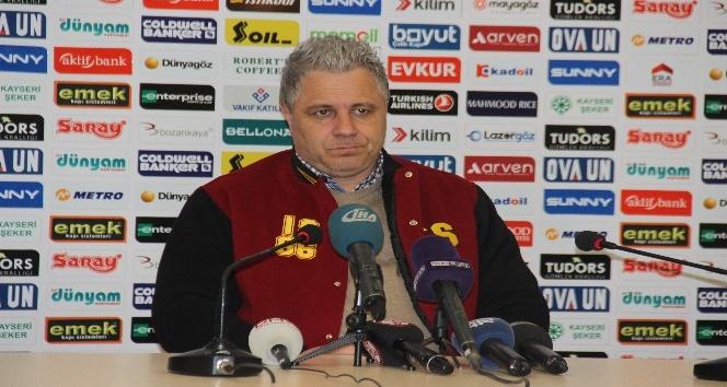 Kayserispor Teknik Direktörü Marius Sumudica: Geriye düştüğümüz maçı lehimize çevirdik