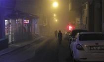 Ardahanı sis kapladı
