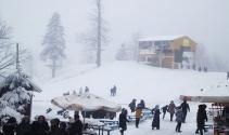 Kocaelide kar yağışı
