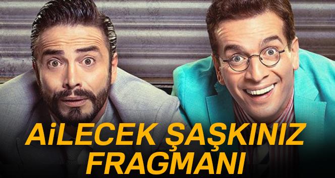 Ailecek Şaşkınız fragmanı yayınlandı! Ahmet Kural ve Murat Cemcirin yeni filmi