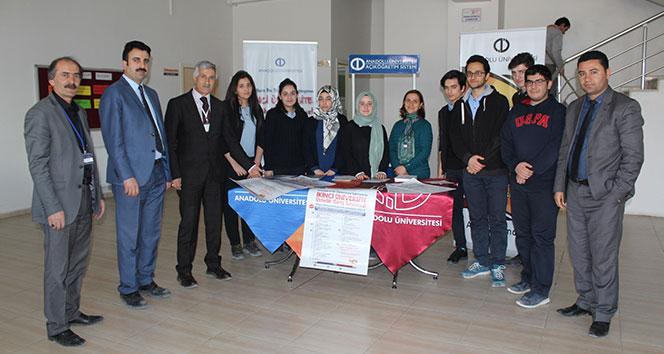 Anadolu Üniversitesinden İkinci Üniversite tanıtımı