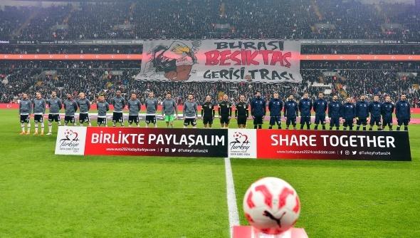 Beşiktaş-Fenerbahçe kupa derbisinden kareler
