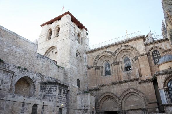 Yeniden açılan Kıyamet Kilisesi ziyaretçilerini ağırlıyor