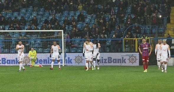 Karabükspor Galatasaray Maçından Kareler