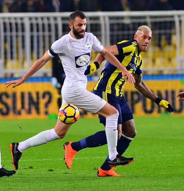 Fenerbahçe Akhisar Maçından Kareler