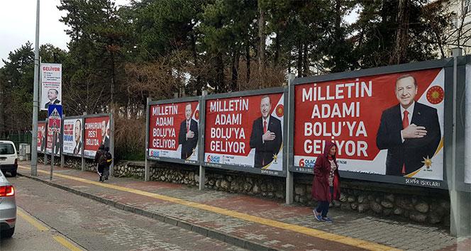Cumhurbaşkanı Erdoğan, 9 yıl sonra Boluya geliyor