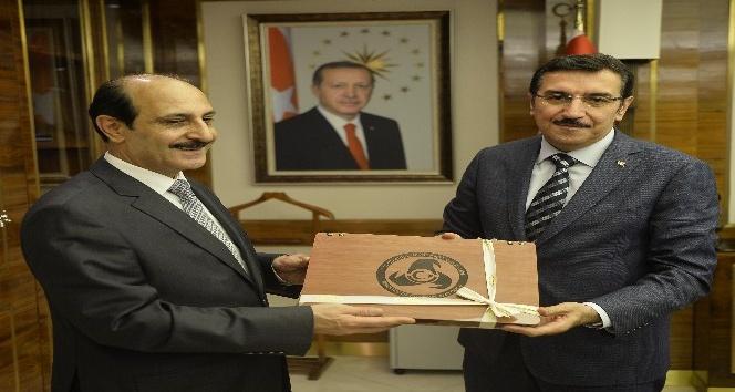 Bakan Tüfenkci, Ürdün Haşimi Krallığı Büyükelçisi Rifaie'yi kabul etti