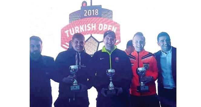 Footgolf Avrupa Turu açılış ayağı Türkiye açık sona erdi